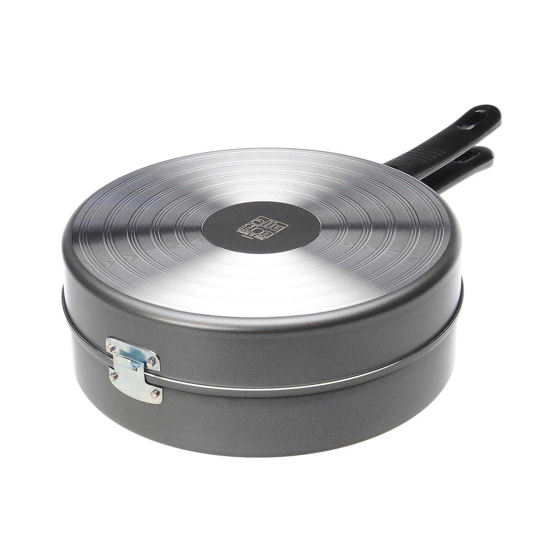 aluminio Alluflon Tradizione Italia Fornetto bajo Negro 26/cm