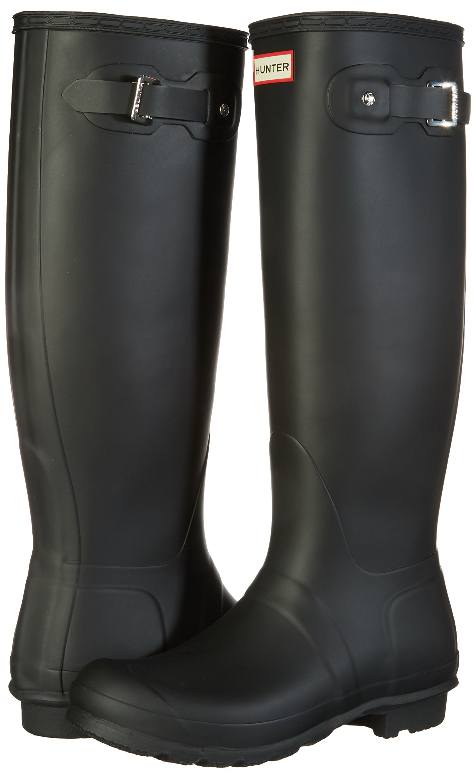 Hunter Women's Original Tall Black Rain Boots - 9 B(M) US by Hunter (Image #6)