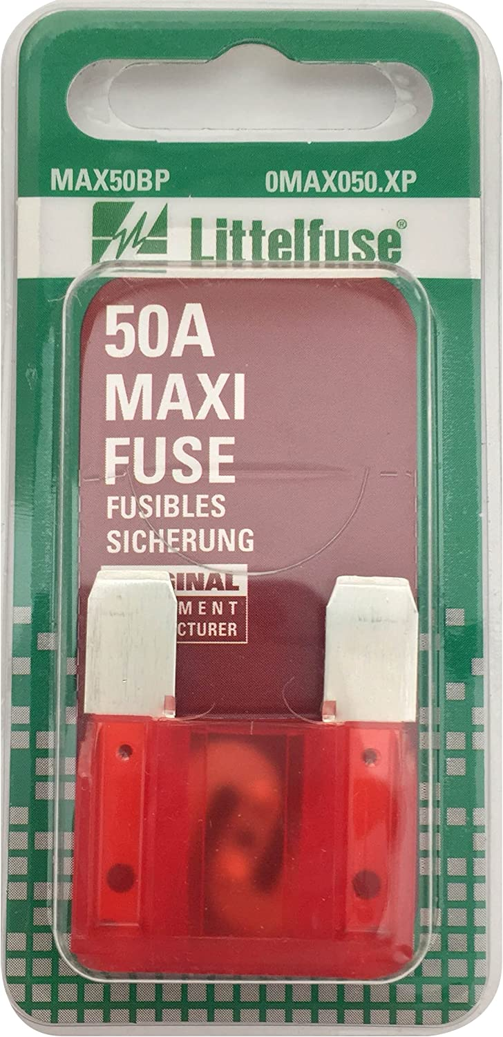 Littelfuse 0MAX050.XP MAXI 32 Volt 50 Amp Carded Fuse