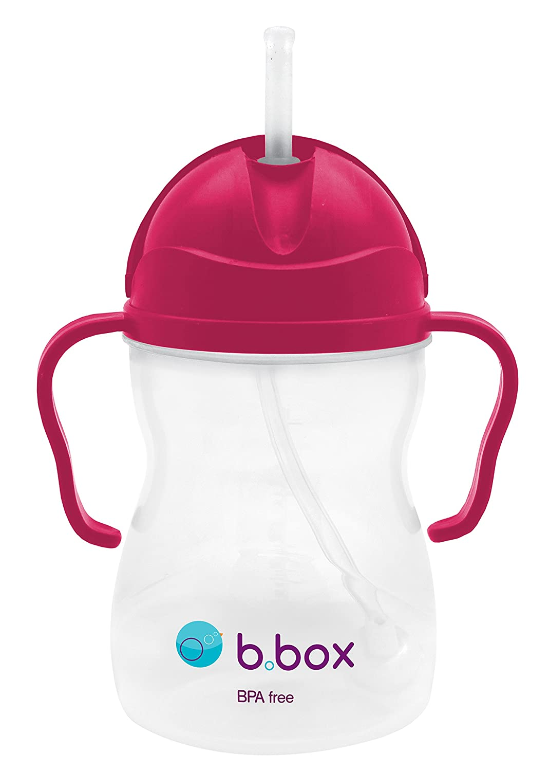 B. Box Essential Sippy Cup - Raspberry - 8 oz by Bbox  レッド B00C5ORGWO