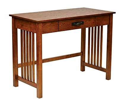 Pleasing Office Star Sierra Solid Wood Writing Desk With Drawer Ash Finish Download Free Architecture Designs Grimeyleaguecom