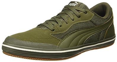 Puma Unisex Astro Sala Olive Night-Olive Night Sneakers - 9 UK India ... 5b7c31dd840f