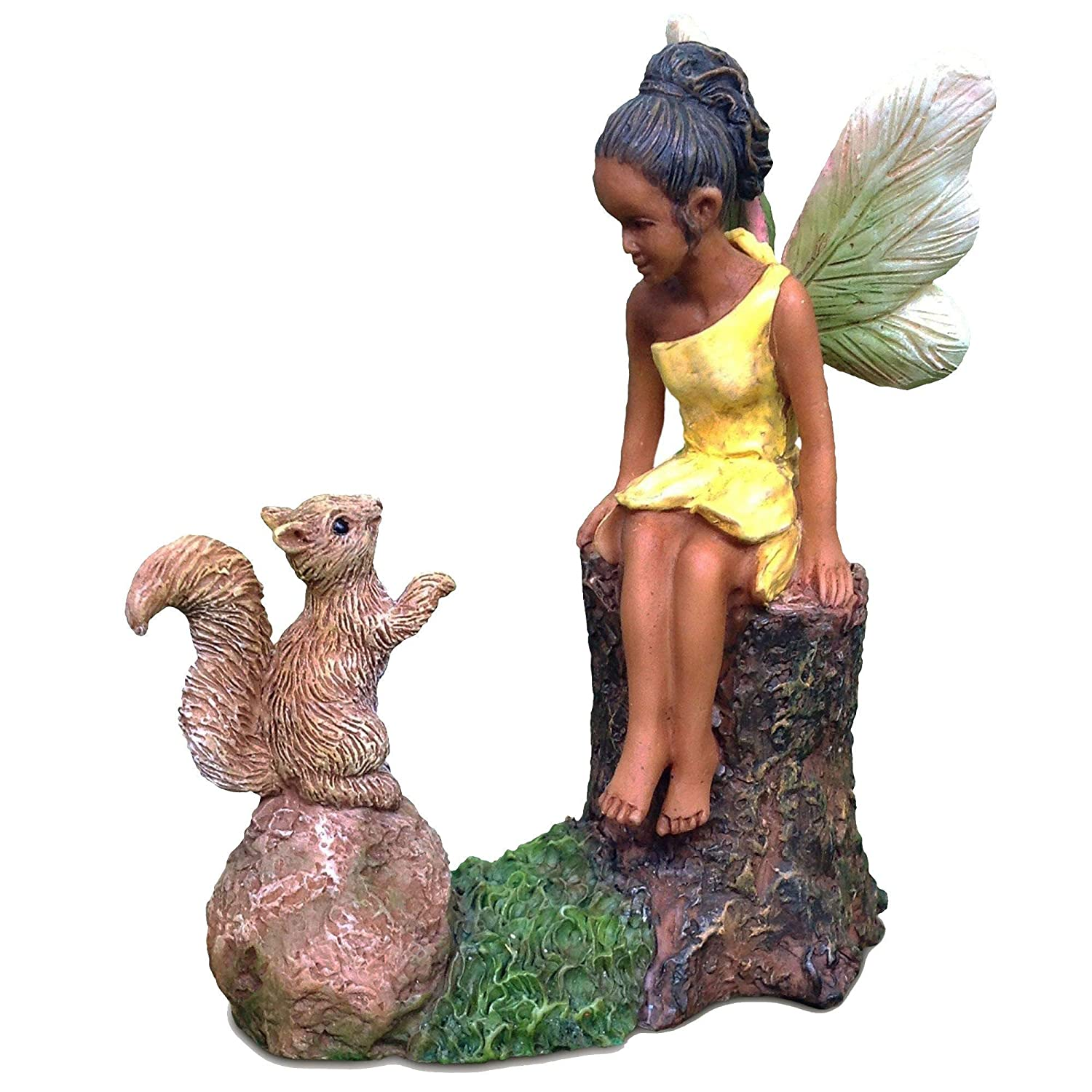 Mg75 Making Friends Marshall Home and Garden Fairy Garden Figure by Woodland Knoll