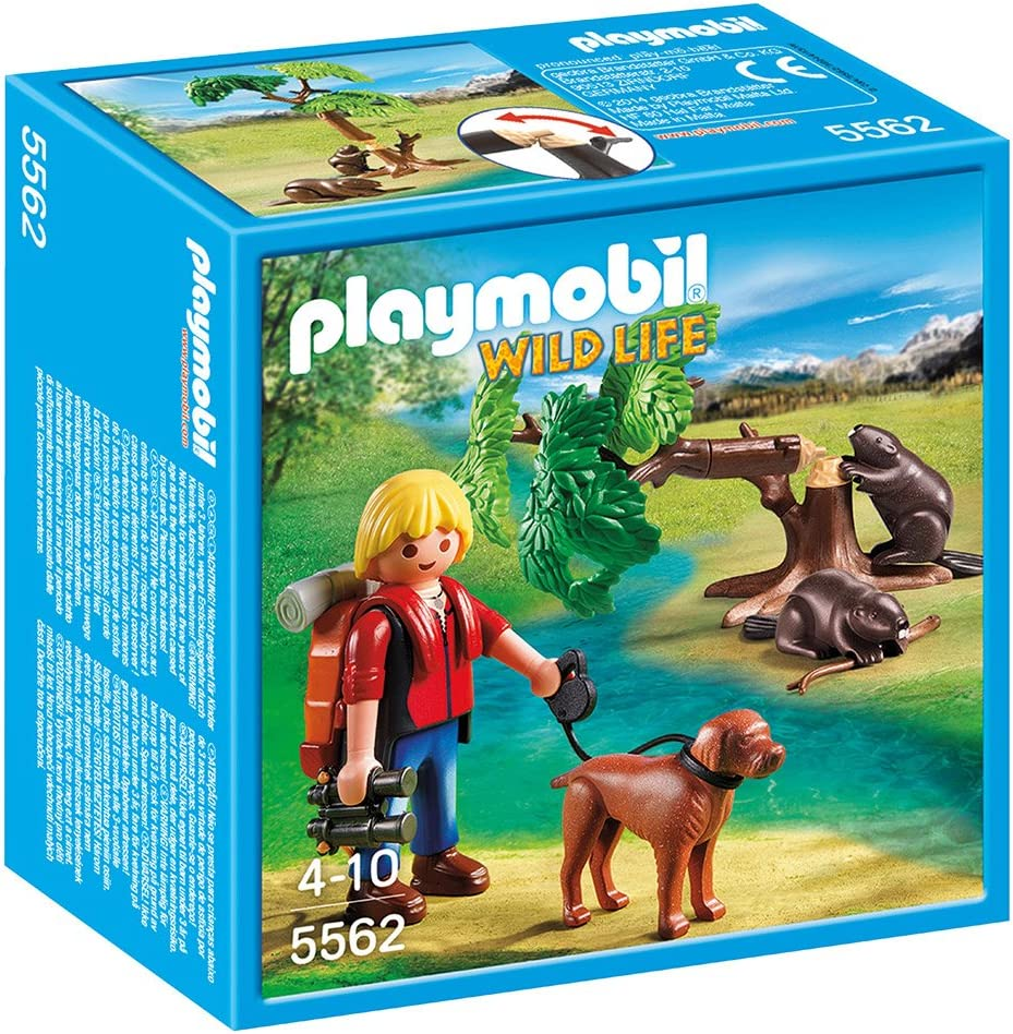 Playmobil Beavers with Backpacker Playset, Playsets - Amazon Canada