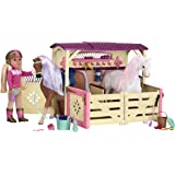 Glitter Girls by Battat – All Asparkle Acres Riding Stable Set – Accessory set for 14-inch horses – 14-inch Doll Accessories and Clothes for Girls Age 3 and Up – Children's Toys