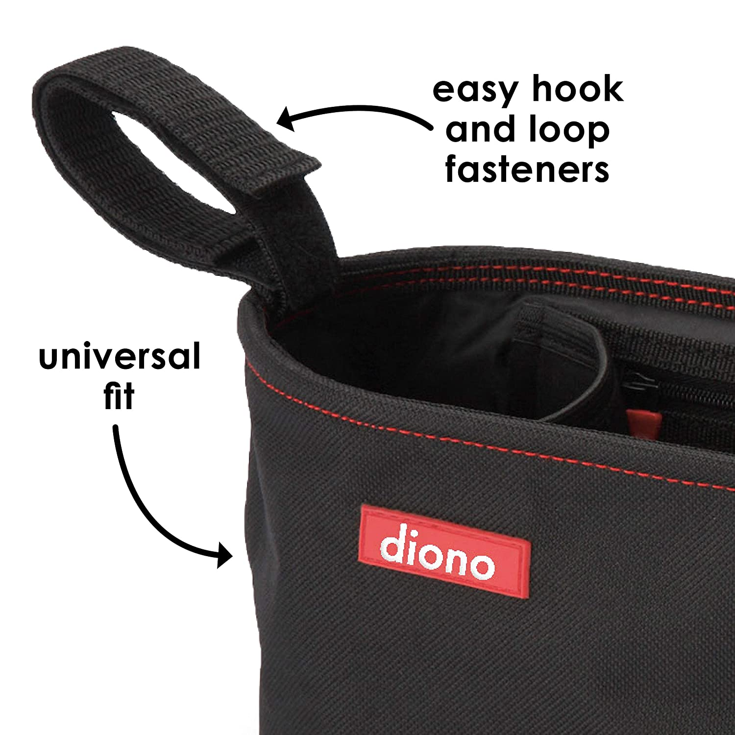 Diono Buggy Mate Zip Bag With Pockets