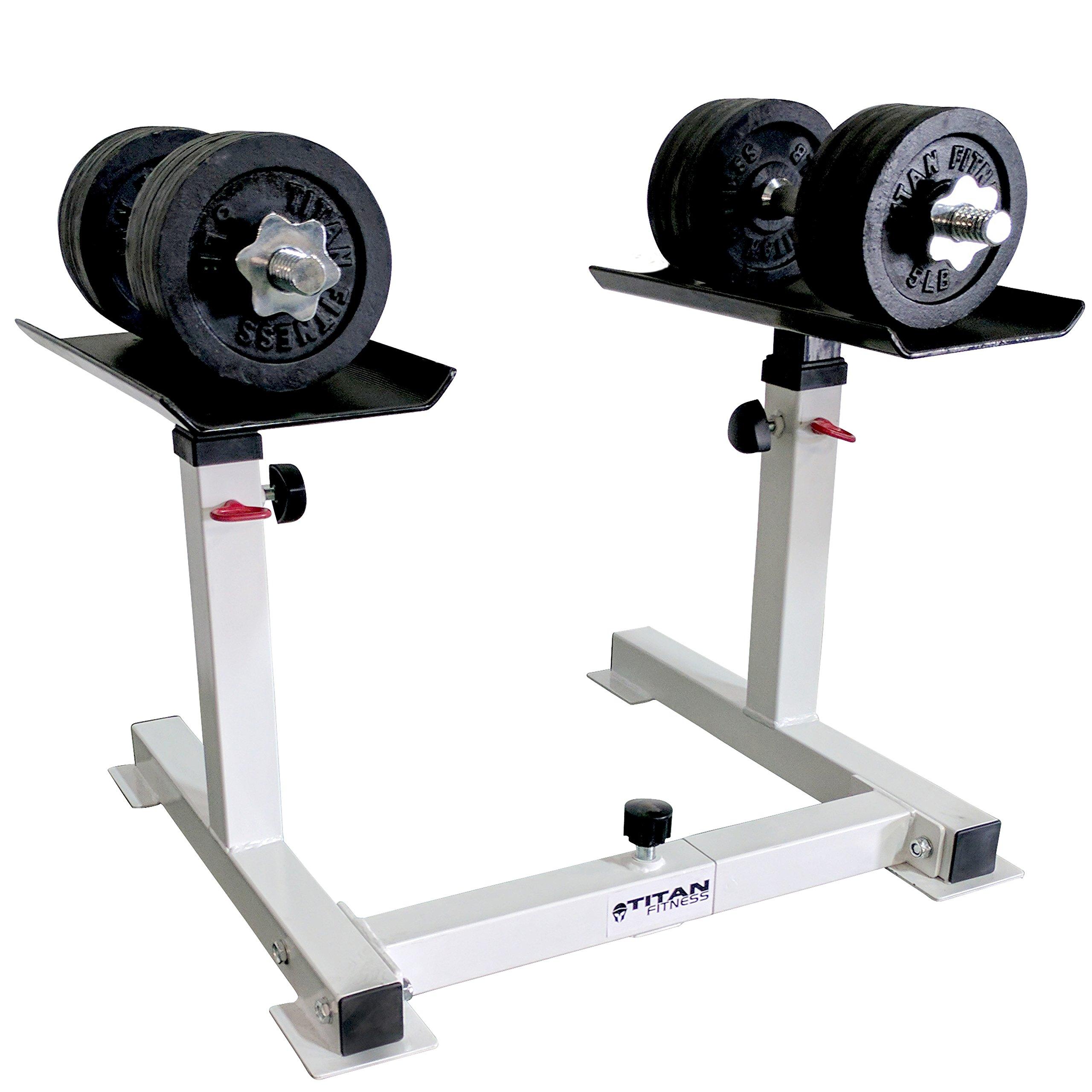 Titan Adjustable Height Dumbbell Holder by Titan Fitness (Image #4)