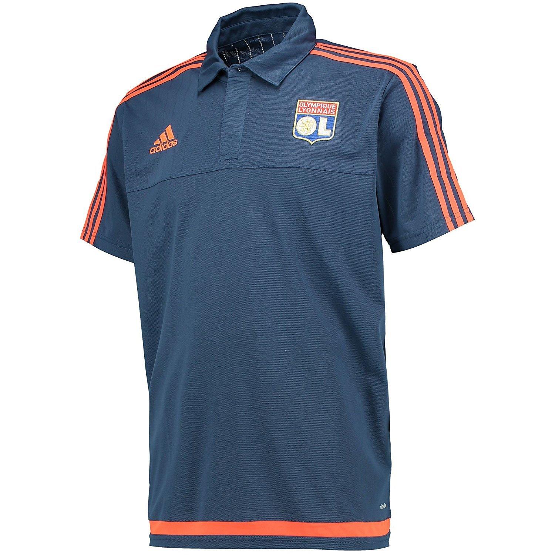 Adidas Herren Poloshirt OL Olympique Lyonnais