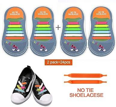Slip On Silikon Elastischen Schnürsenkel Schuhband Shoelaces Ohne Krawatte //