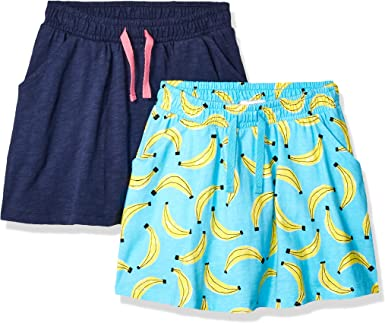 Marca Amazon - Spotted Zebra Pack de 2 Falda-Pantalon para Niñas ...