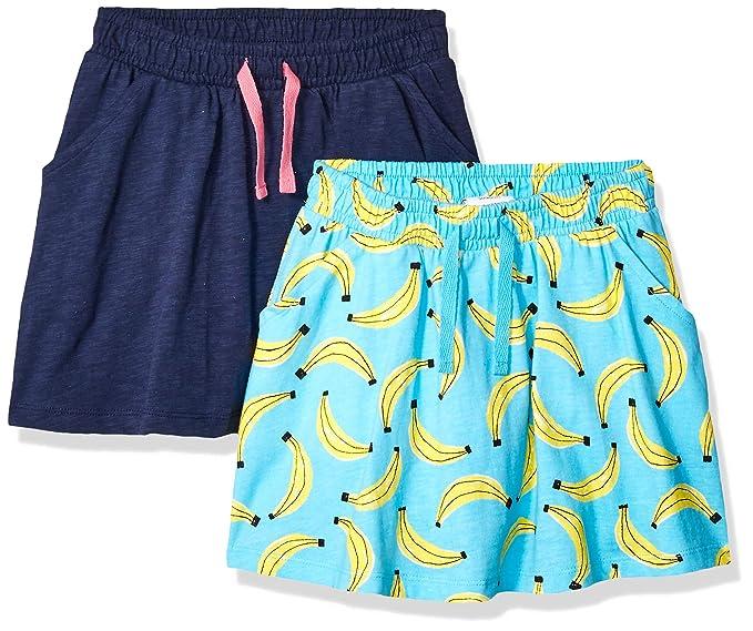 Marca Amazon - Spotted Zebra - Faldas pantalón de punto para niña ...