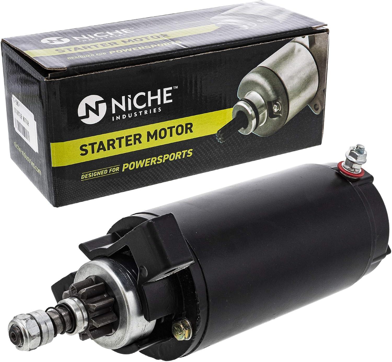 NICHE Starter Motor Assembly 50-859377T For Mercury Marine 40 50 60 HP Fourstroke