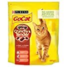 Go-Cat Crunchy and Tender Dry Cat Food Beef 800g - Case of 4 (3.2kg)
