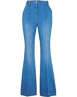 Womens Cotton Kick Flare Jean Short JD Williams