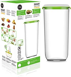 FOSa Vacuum Seal Food Storage System Reusable Extra Tall Container, 96 oz Size