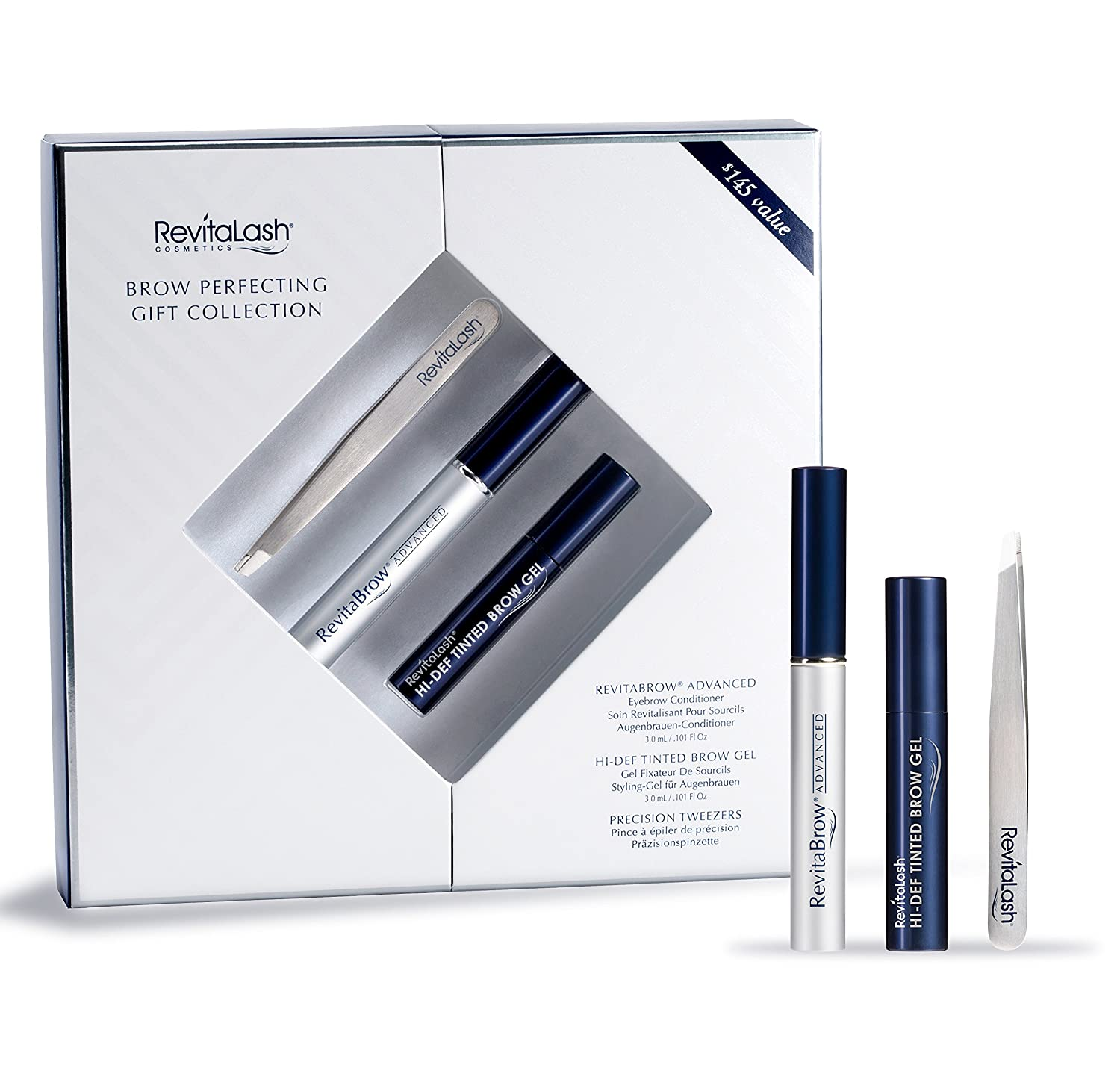 Revitabrow Advanced 3ml Hi Def Tinted Brow Gel Soft Brown 3ml