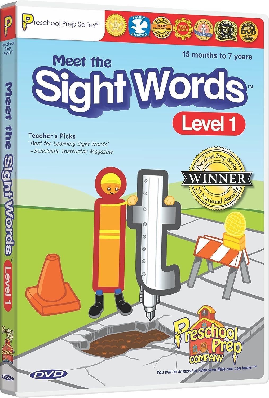 Amazoncom Meet The Sight Words Level 1 Dvd Animation Kathy Oxley