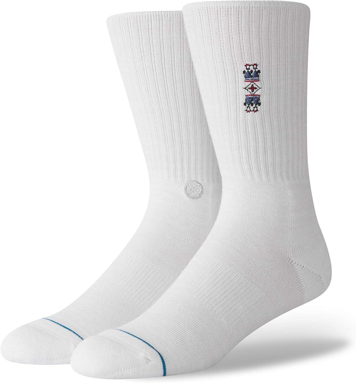 Doux et Confortable Stance Socks Sens Mi-Chaussettes Avec Terry Boucle et Transparente Fermeture Toe