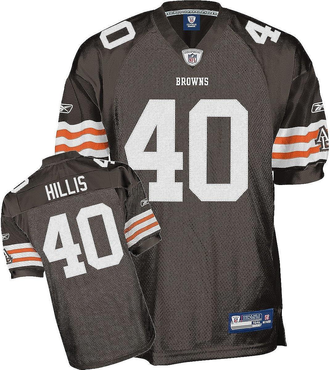 Amazon.com : Reebok Cleveland Browns Peyton Hillis Authentic ...