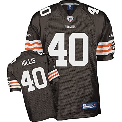 0239f598e17 Amazon.com : Reebok Cleveland Browns Peyton Hillis Authentic Jersey Size 48  : Sports Fan Jerseys : Sports & Outdoors