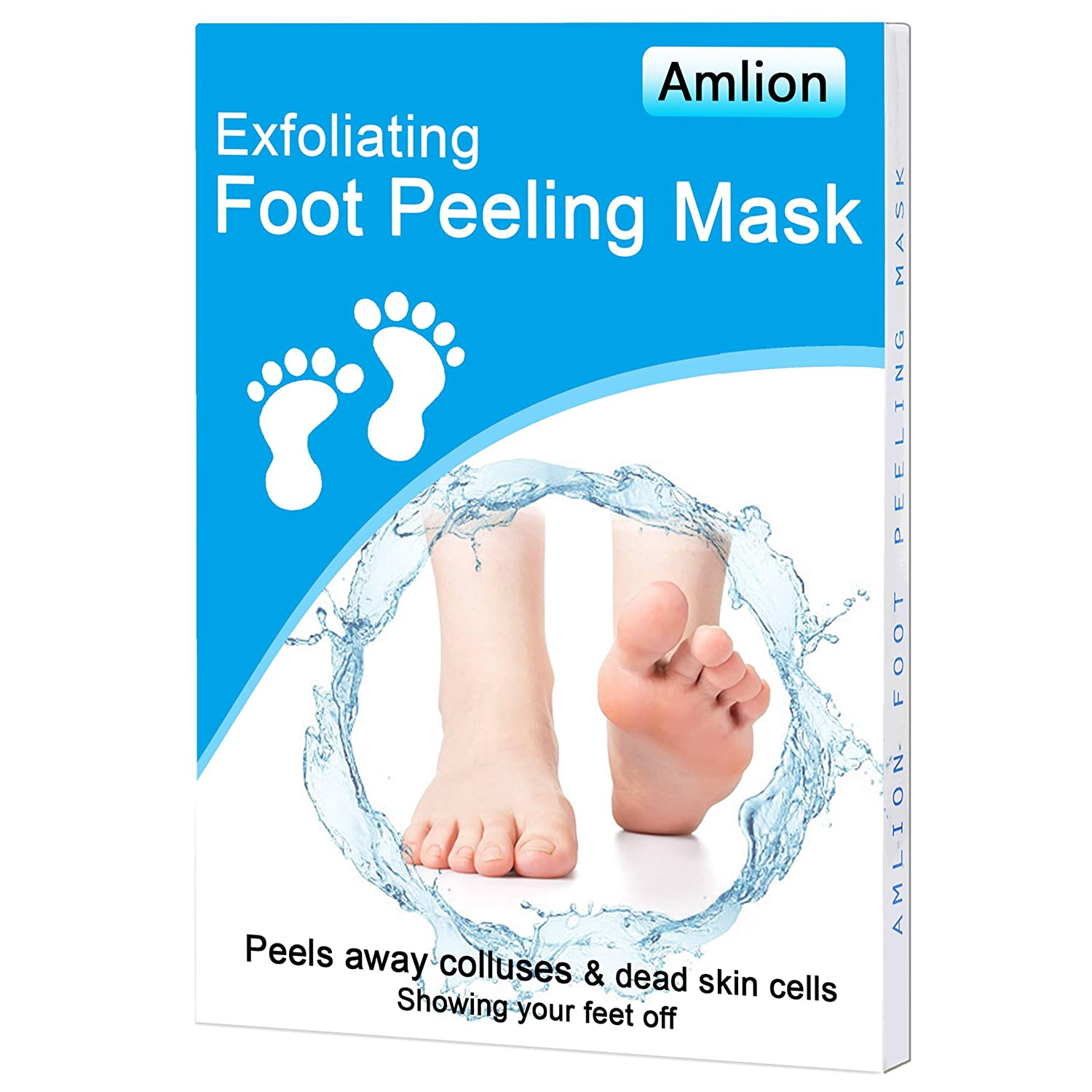 Foot Peel Mask for Baby Soft Feet,Exfoliating Foot Mask for Dead Skin & Callus Remover, Smooth and Healthy Skin,Moisturizing and Nourishing Amfacory