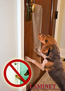 The ORIGINAL LAMINET Deluxe Pet Scratch Shields - Protect your furniture \u0026 walls with our Deluxe & Amazon.com : Door Scratch Protector : Pet Doors And Supplies : Pet ... Pezcame.Com