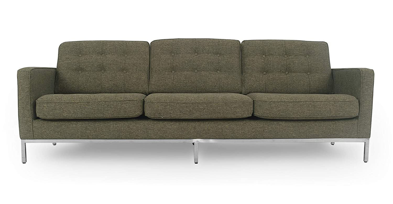 Amazon.com: Kardiel Florence Mid-Century Sofá moderno de 3 ...