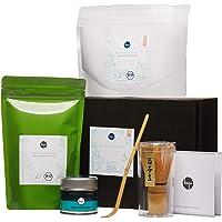 Bio Grüntee aus Japan – Grüner Tee Geschenk-Set – Bio Matcha & Sencha – lose & Pulver