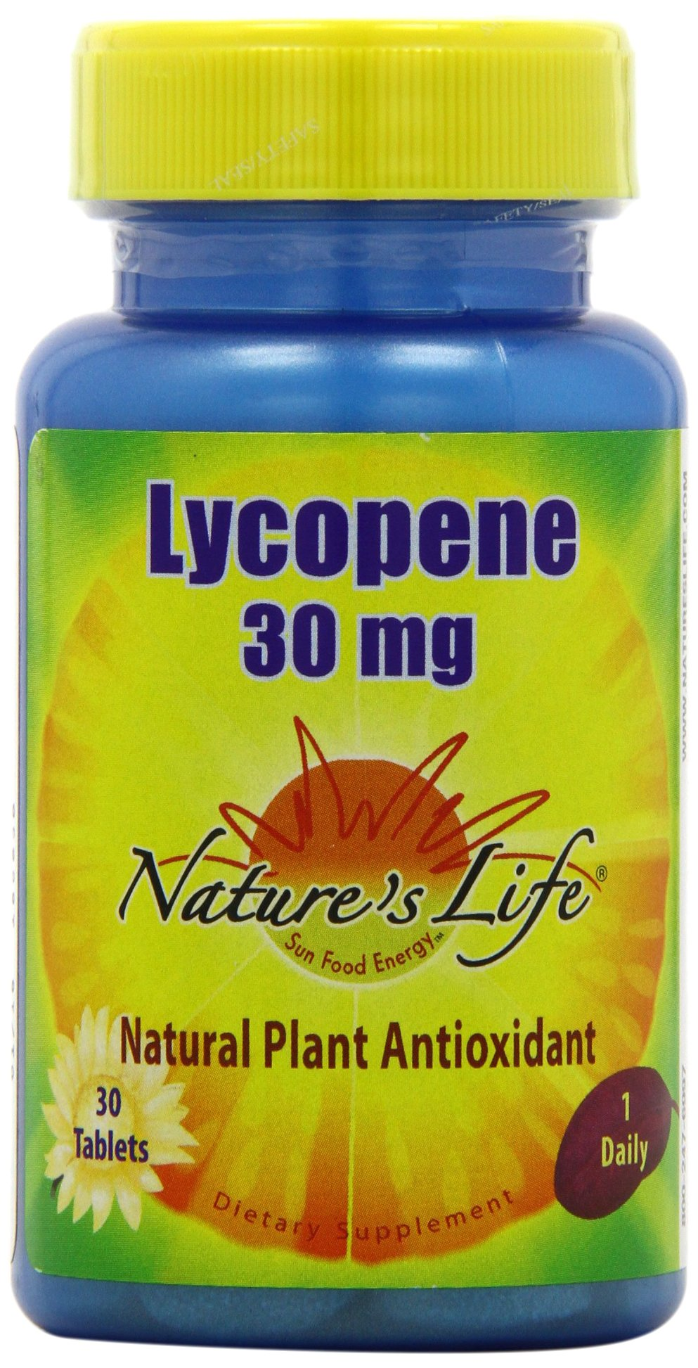 Nature's Life Lycopene Tablets, 30 Mg, 30 Count