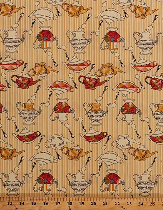 com cotton teapots teapot teaspoons tea party fine