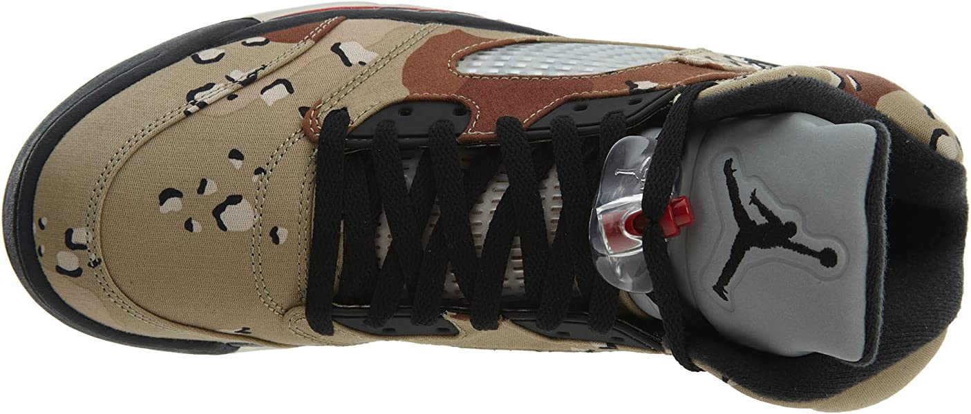 super popular 0e8c8 8cd7f Nike Herren Air Jordan 5 Retro Supreme Turnschuhe, Braun Grau (Bambus  Schwarz-