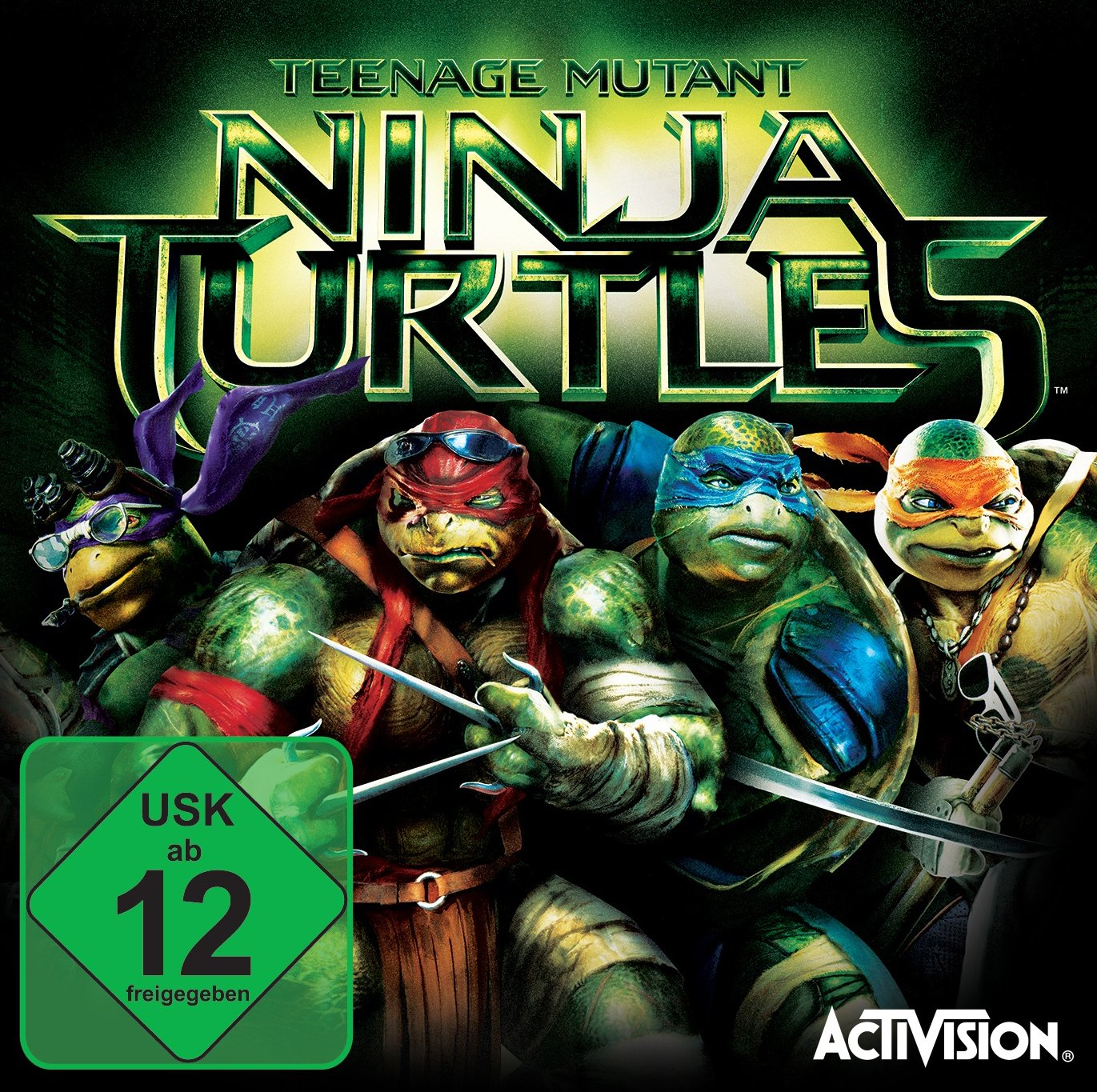 Teenage Mutant Ninja Turtles Movie [Importación Alemana ...