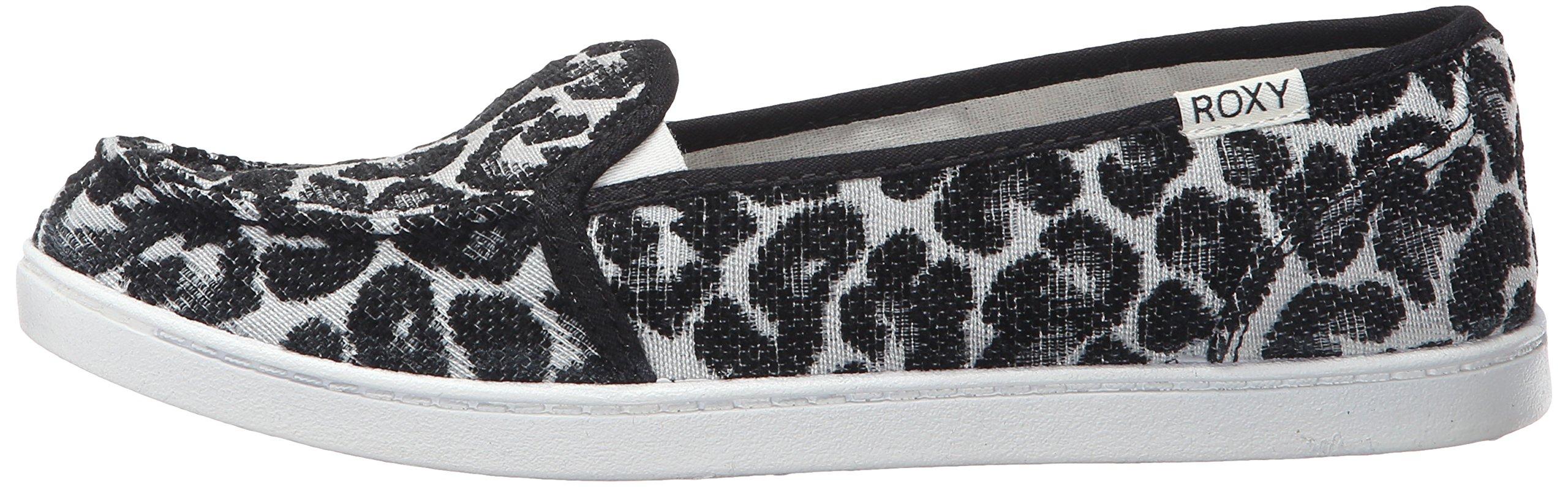 Roxy Women's Lido Iii Slip-on Shoes Flat, Black/Black/Dark Grey, 7 M US by Roxy (Image #5)