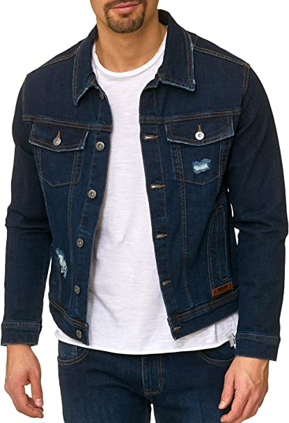 jeans jacke herren schwarz
