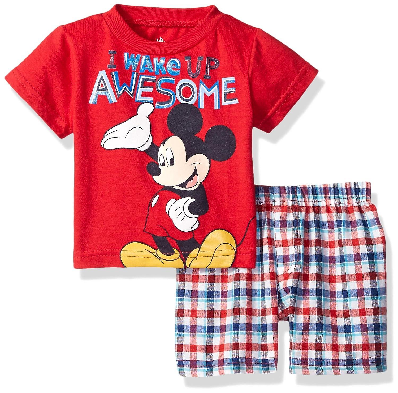 Disney Mickey Mouse Plaid Short Image 1