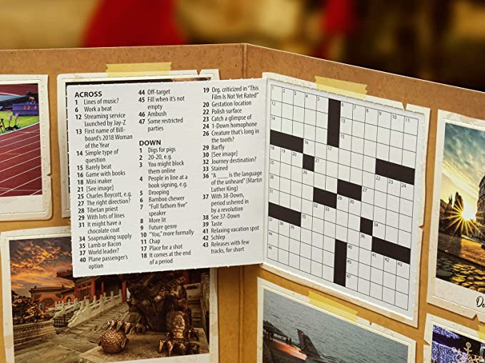 Amazon Com Mindmade The Advent Calendar For Crossword Lovers Home Kitchen