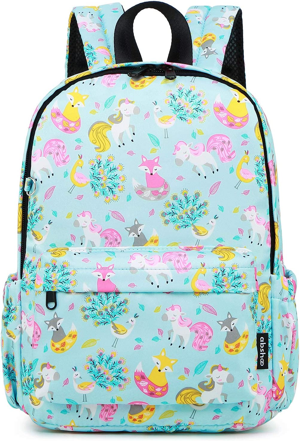 Abshoo Little Kids Unicorn Toddler Backpacks for Girls Preschool Backpack With Chest Strap
