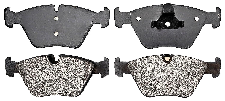 Disc Brake Pad Set-Semi Metallic Disc Brake Pad Front ACDelco Advantage 14D824M