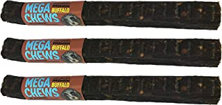 product image for Etta Says Premium 10 Inch MEGA Sized Buffalo Dog Chews - 3 Pack - Made in The USA - 100% Natural Ingredients - Buffalo Chews- USA Sourced Rawhide - Safer Than Traditional Rawhide (Buffalo, 3 Pack)