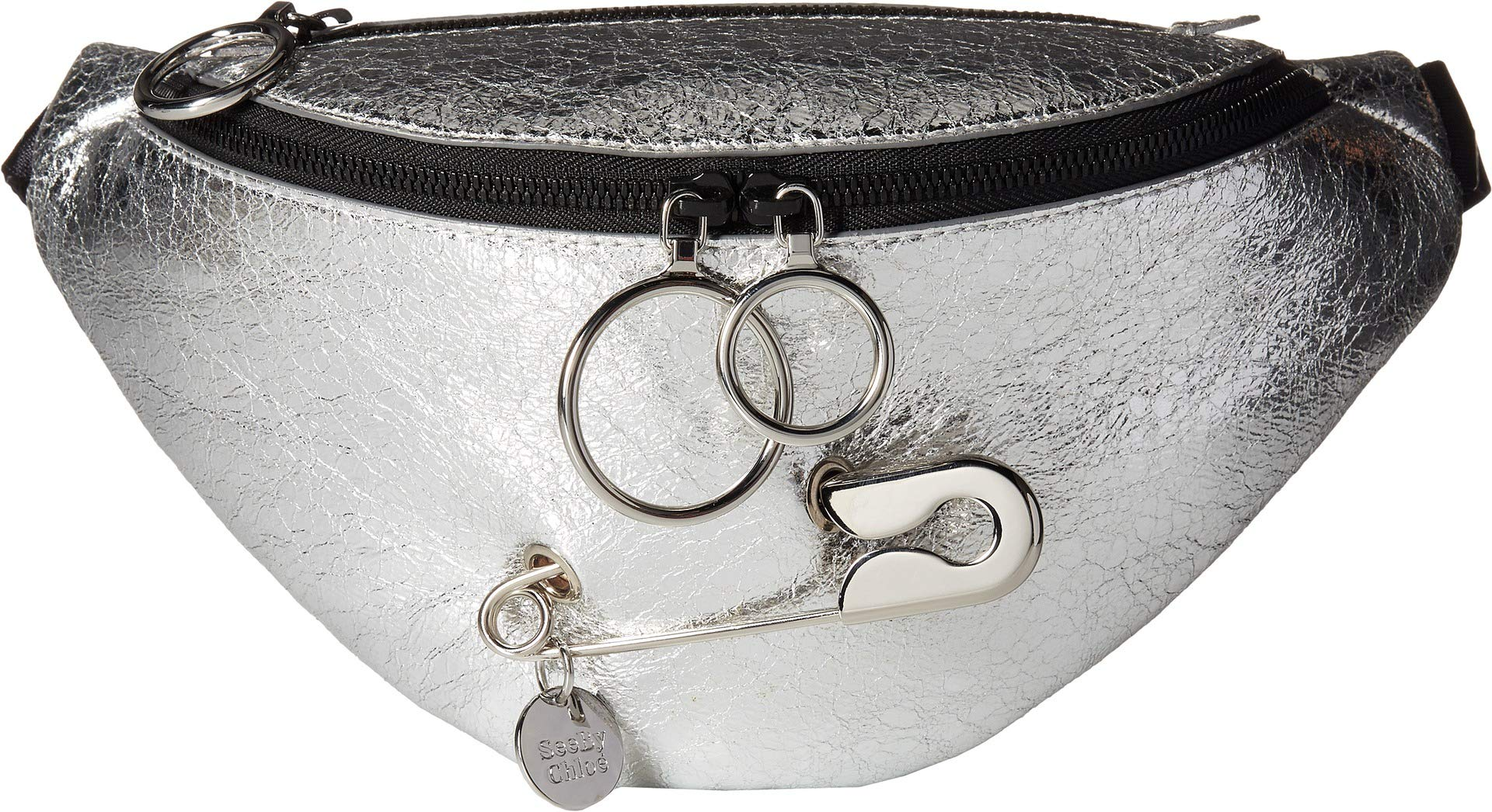 See by Chloe Women's Mindy Fanny Pack Silver One Size