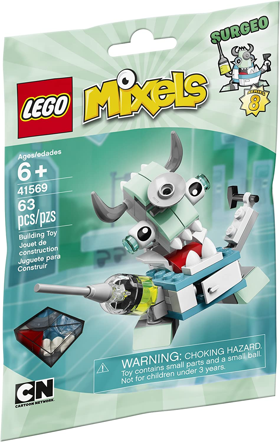 LEGO Mixels 41569 Surgeo Building Kit