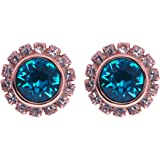 Ted Baker Sully Crystal Chain Stud Blue Earring