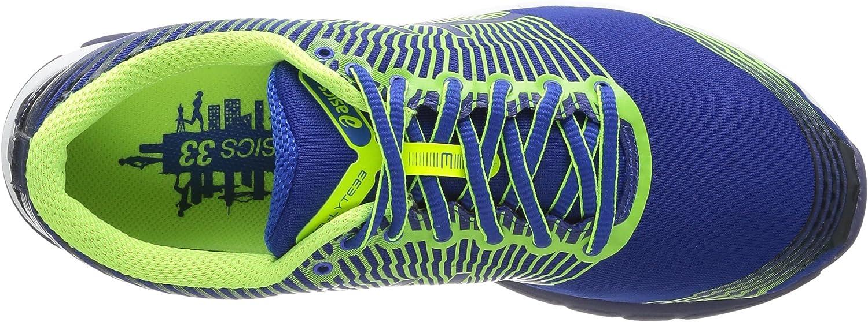 Asics Gel Lyte 33 - Zapatillas de Running para Hombre, Color Roy/FL.Yell/Navy, Talla 42: Amazon.es: Zapatos y complementos