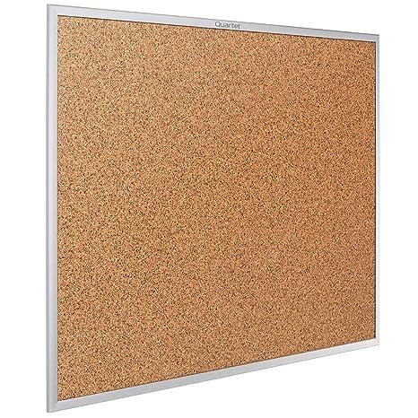 Amazoncom Quartet Cork Board Bulletin Board 3 X 2 Corkboard