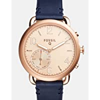 Fossil Q Tailor Hybrid Blue Leather Smartwatch