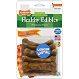 Nylabone Healthy Edibles Dog Chew Treat Bones for Petite Dogs up to 15 Pounds