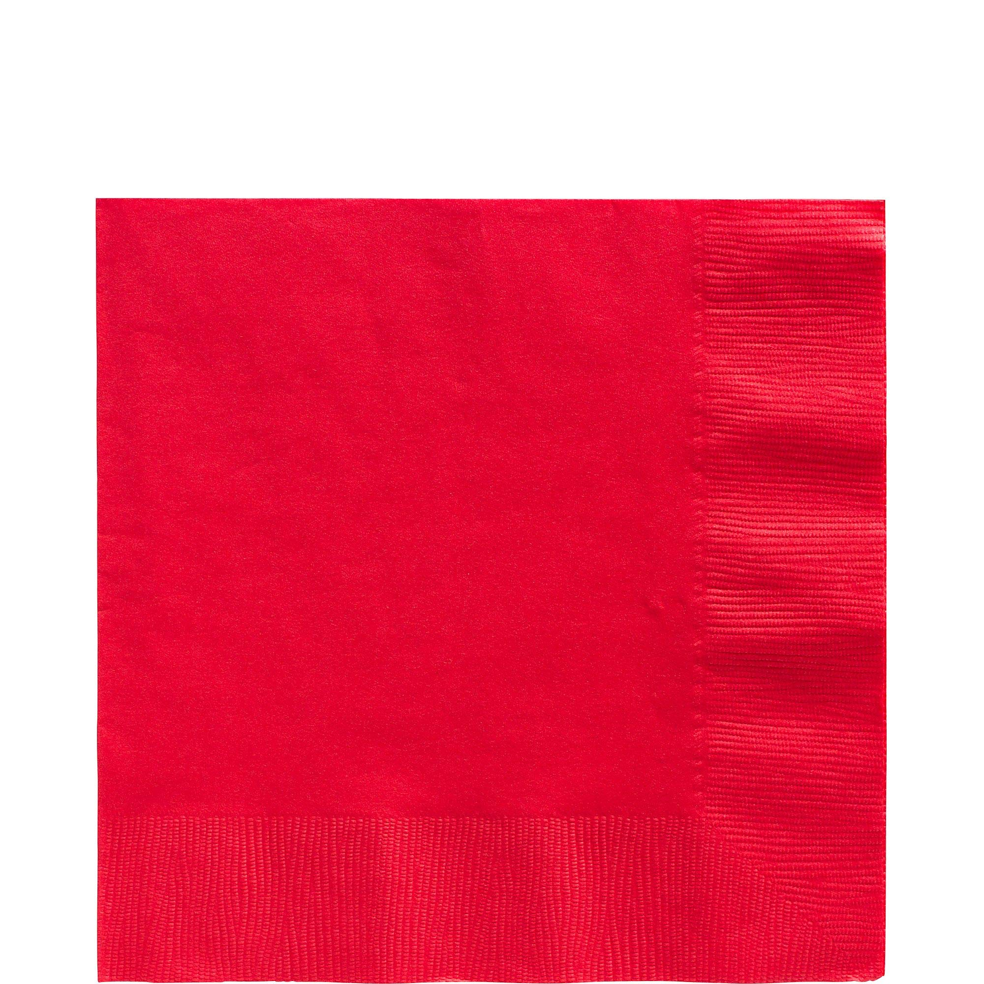 Apple Red Luncheon Napkins Big Party Pack, 125