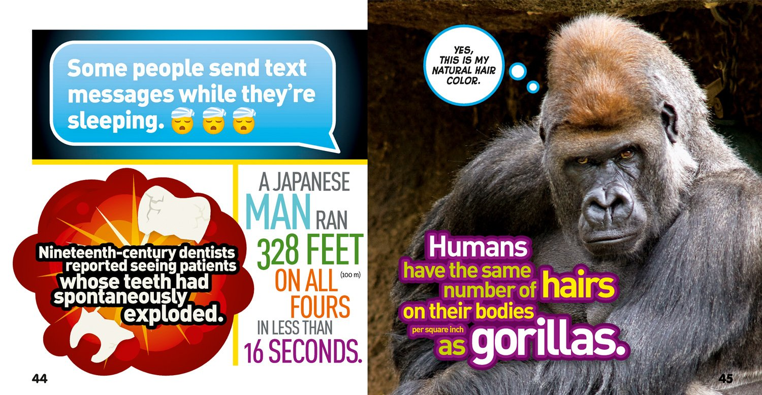 Weird But True Human Body 300 Outrageous Facts About Your Awesome