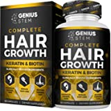 Hair Growth Supplement for Men & Women - DHT Blocker Support to Prevent Hair Loss & Thinning - Hair Vitamins with Biotin…