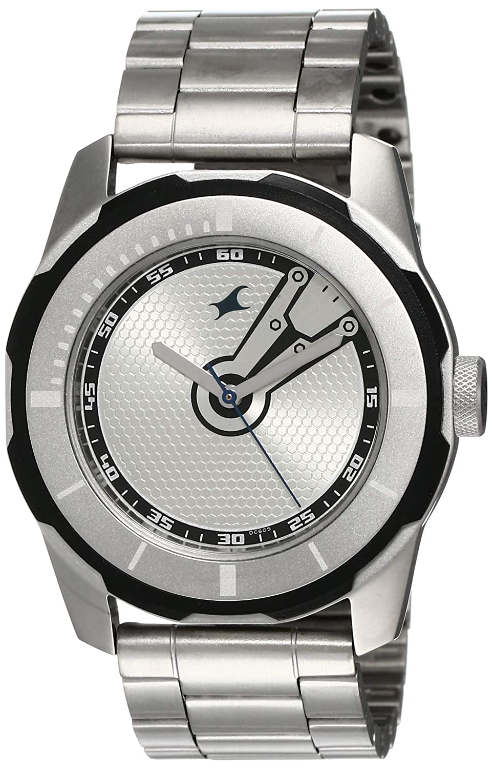 Fastrack silver chain Watches for mens in the budget of around 3000